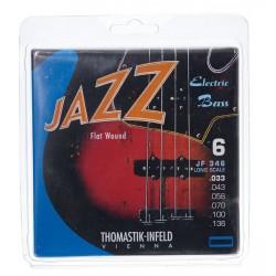 Corzi pentru chitara bass THOMASTIK JF346 Long scale