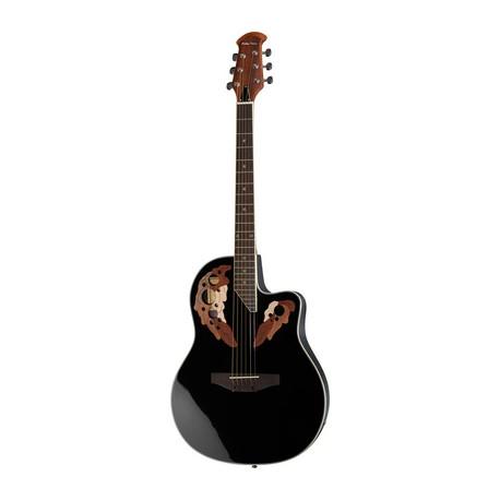 Chitara electro acustica Harley Benton HBO-850BK