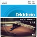 Corzi mandolina D'ADDARIO EJ62
