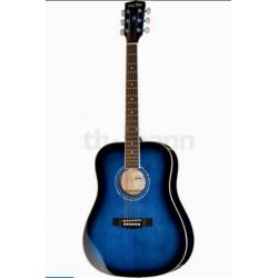 Chitara Acustica H&B TB Albastru