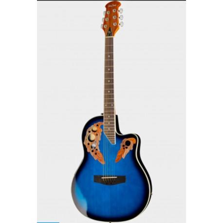 Chitara Electro-Acustica H&B HBO850 Albastru