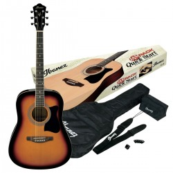 Chitara Ibanez V50NJP-VS - Pachet chitara acustica cu accesorii