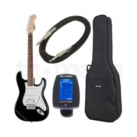 Chitara Electrica Squier by Fender Bullet Strat HSS BK Set