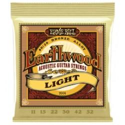 Corzi chitara acustica Ernie Ball EARTHWOOD Light 11-52