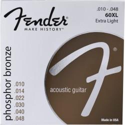 Corzi chitara acustica Fender 60XL Phosphor Bronze 10-48
