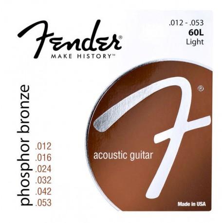 Corzi chitara acustica Fender 60L Phosphor Bronze 12-53
