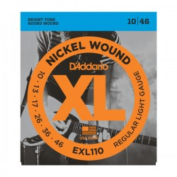 Corzi chitara electrica D'Addario EXL110 Regular Light 010-046