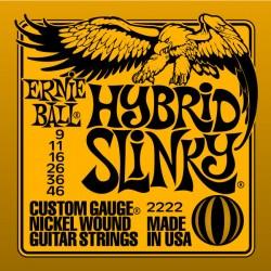 Corzi chitara electrica Ernie Ball Hybrid Slinky 009-046