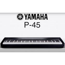 Pian digital YAMAHA P45B - pachet