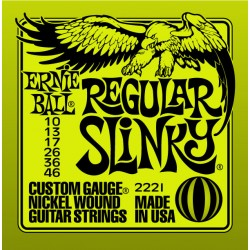 Corzi chitara electrica Ernie Ball Regular Slinky 010-046