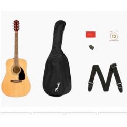 Pachet chitara acustica FENDER FA-115 Dn