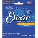 Corzi chitara electrica Elixir Nanoweb Baritone 012-068