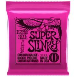 Corzi chitara electrica Ernie Ball Super Slinky 2223