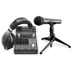 Set studio BEHRINGER Podcastudio 2 USB