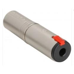 Adaptor XLRm-Jf mono 6,3mm NEUTRIK NA3MJ