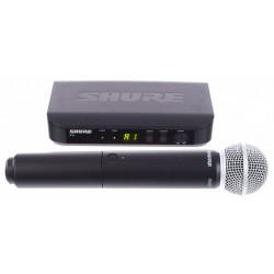 Microfon fara fir SHURE BLX24/SM58